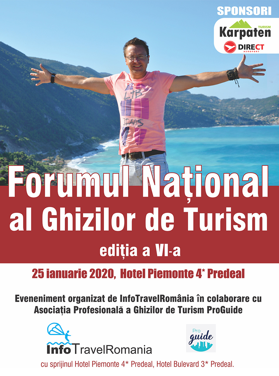 Forumul National al Ghizilor de Turism 2020