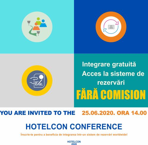 25 iunie 2020 Conferinta Hotelierilor din Romania 2020 - Powered by Hotelcon si Olympia